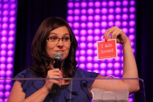 Bronwen Healy found God in rehab. Now, she's spreading news of his great love to women who look like her 15 years ago.