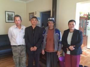 From left: Soe Pwell Moo Kwa, Pastor Jairus Maung, Pau Oo Ni, and Pastor Breena Benny; members of the Katanning Karen Baptist Church.