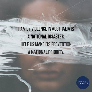 Common Grace released this image as the 227 recommendations of the Royal Commission were handed down.