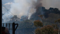 Fires engulf the Blue Mountains