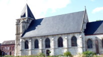 The church in Saint Etienne du Rouvray, France