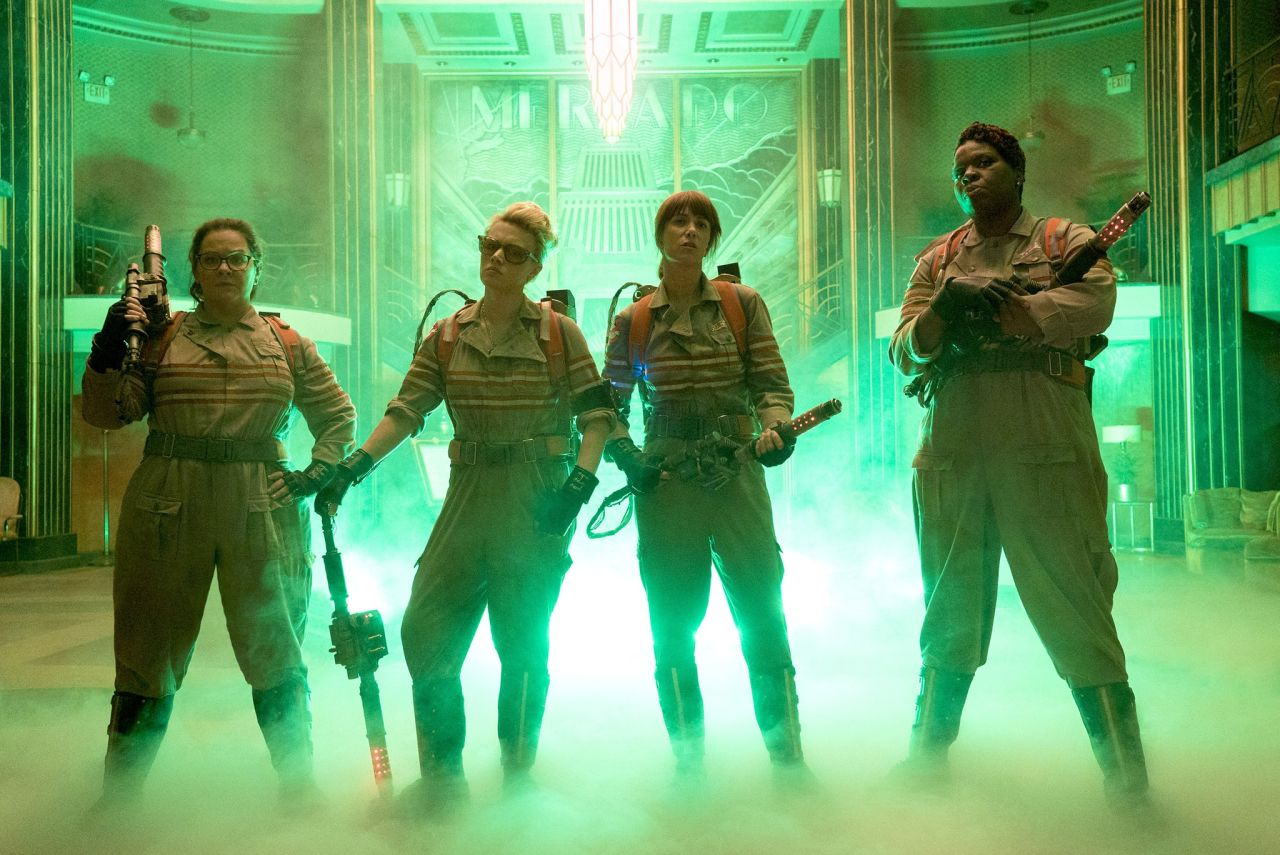 This year's 'Ghostbusters' reboot features an all-female cast.
