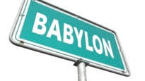 Babylon sign