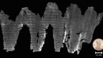 A digital composite of the En-Gedi scroll