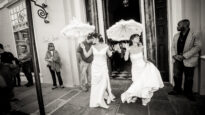 Two brides marry in New Orleans, 2014