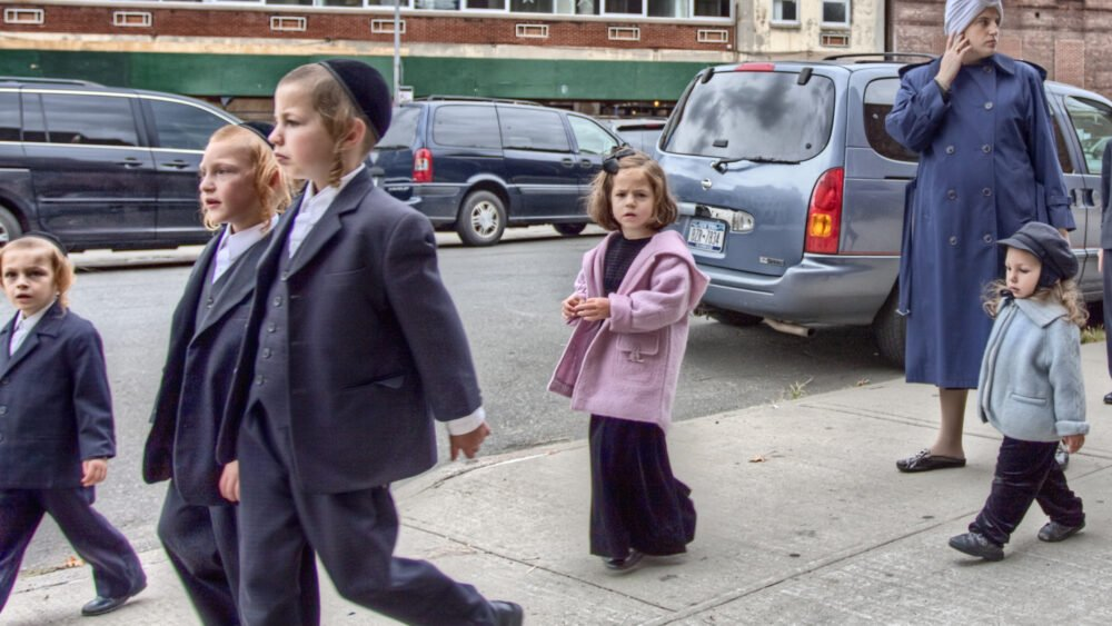 Orthodox Jewish Family, Williamsburg, NYC