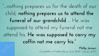Popular preacher Phillip Jensen reflects on the death of his grandson
