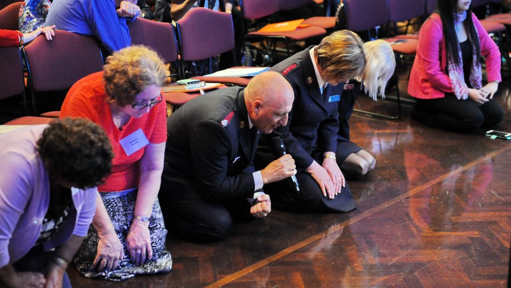 Christians pray at the 2015 national day of prayer