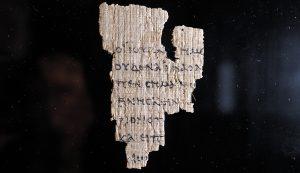 Papyrus 52 manuscript