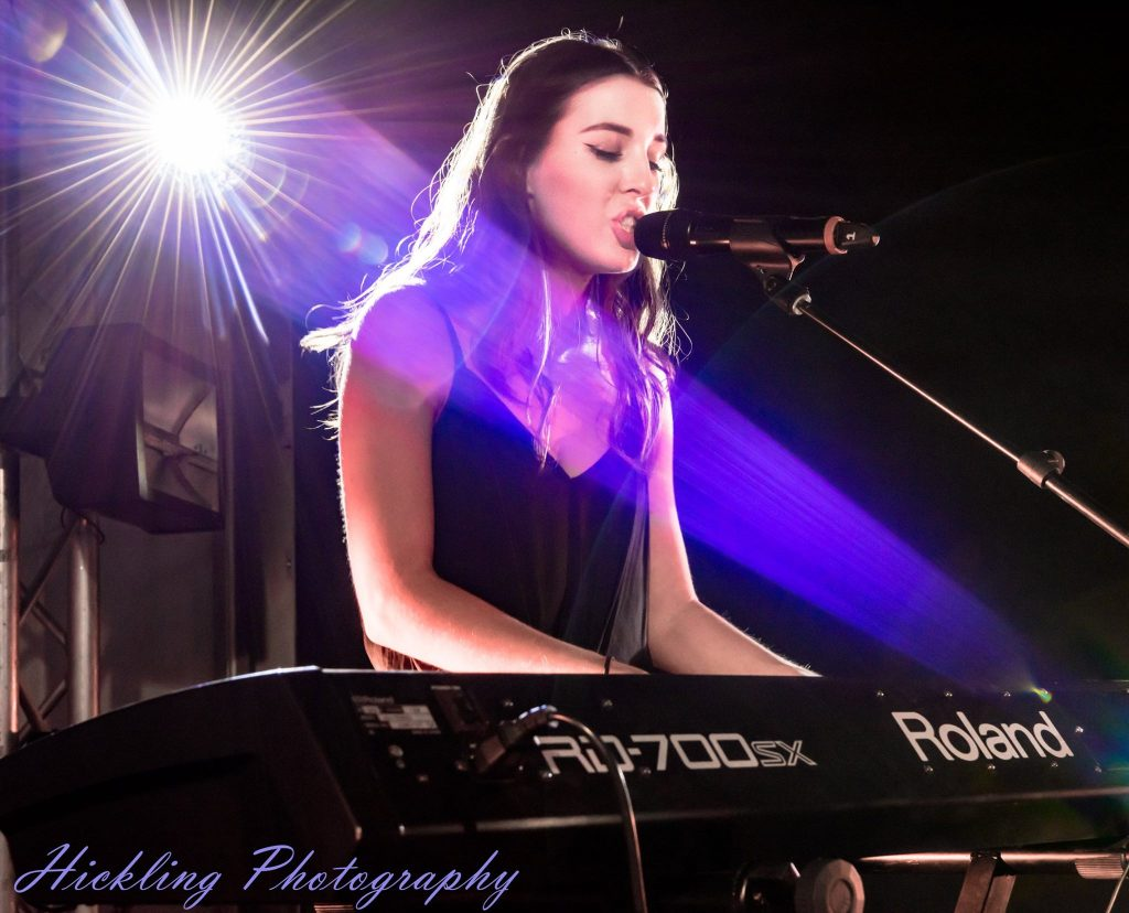Solo musician Anna Leeworthy perform.s