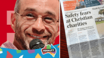 A gay activist has taken to Twitter to target high-profiile Christians