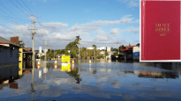 Bible Society is offering free Bibles to victims of Cyclone Debbie