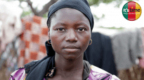 Leonie*, Elise* and Aimee* who are part of Bible Society's Esther Project, have such harrowing stories that we can't use their pictures. This woman in Cameroon has suffered as a refugee