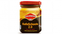 Safe Schools Vegemite jar, from Twitter campaign
