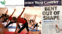 The Inner West Courier reports that yoga will be banned from this church