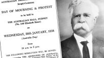 Aboriginal protest notice with William Cooper