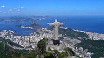 Christ the Redeemer overlooking Rio De Janeiro, Brazil
