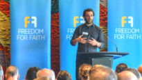 Alex Deagon addresses Freedom for Faith