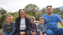 Luke and Julia Collings with Bede, Tabitha and Silas moved to Moranbah in October 2017 to minister in a rural context.