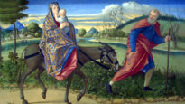 The Flight into Egypt by Vittore Carpaccio