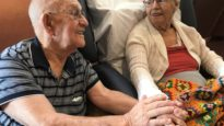 Fred and Faye Howe have been married for 65 years.