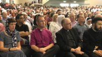 Australian Christian leaders attend a mosque on Sunday, March 17