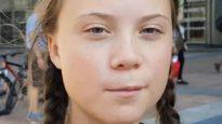 Swedish teenage climate activist Greta Thunberg, who has inspired today's global climate strike.