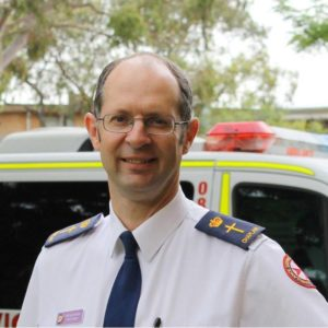 Reverend Paul McFarlane is the Senior Chaplain at NSW Ambulance.