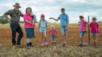 Jarrod & Emma Amery & family, Forbes NSW