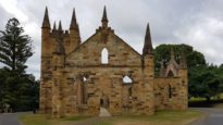 convict church Port Arthur
