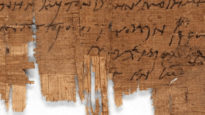 The papyrus P.Bas. 2.43 has been in the possession of the University of Basel for over 100 years. The letter has been dated to the 230s AD and is thus older than all previously known Christian documentary evidence from Roman Egypt. (Photo/detail: University of Basel)