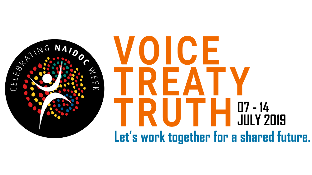 Official logo of NAIDOC Week 2019.