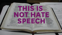 This is not hate speech (Pic of Bible)