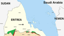 Map of Eritrea (Ethiopia to the south is unlabelled in crop). Image: Skilla1st / Creative Commons