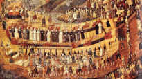 Christian Martyrs of Nagasaki, 16th-17th century, artist unknown.