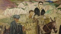 Carlo Levi's painting of the peasants of Lucania - the region he was exiled to