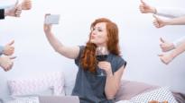 Selfie for social media
