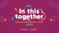 National Reconciliation Week 2020's heme is 'In This Together'.