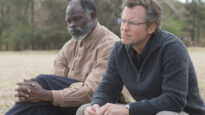 Djimon Hounsou and Greg Kinnear in Same Kind of Different As Me.