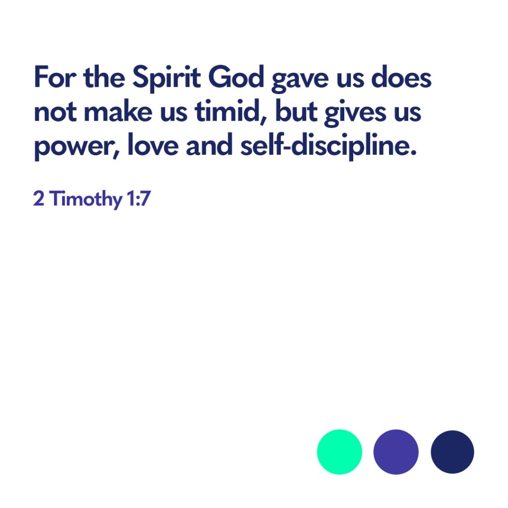 2 Timothy 1 7 Bible verse