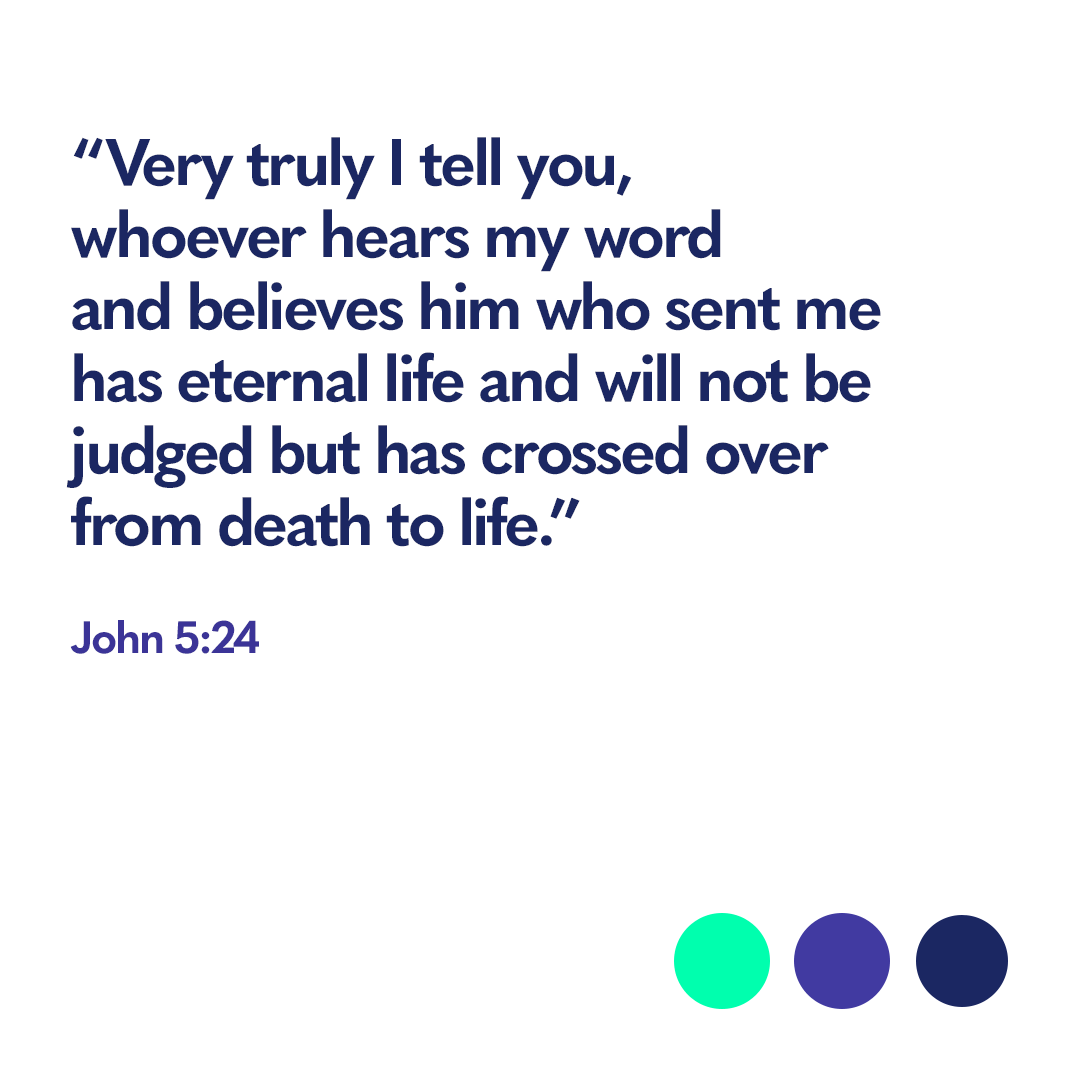 Bible verse John 5 24