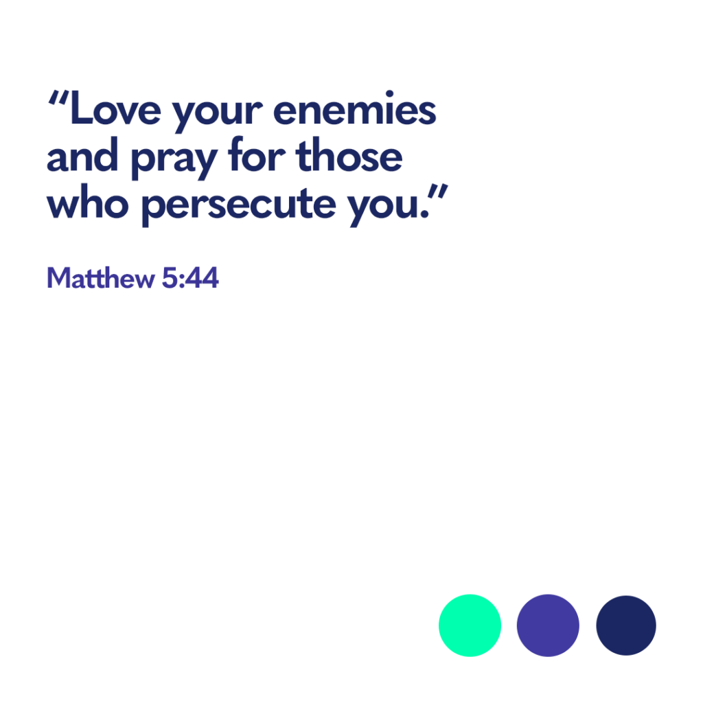 Bible verse Matthew 5 44