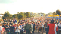 Sydney Olympics crowds in 2000.