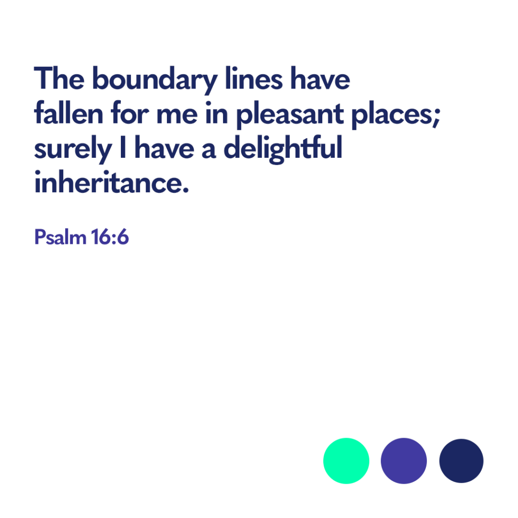 Psalm 16 6 Bible verse
