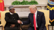 Presidents Trump and Buhari