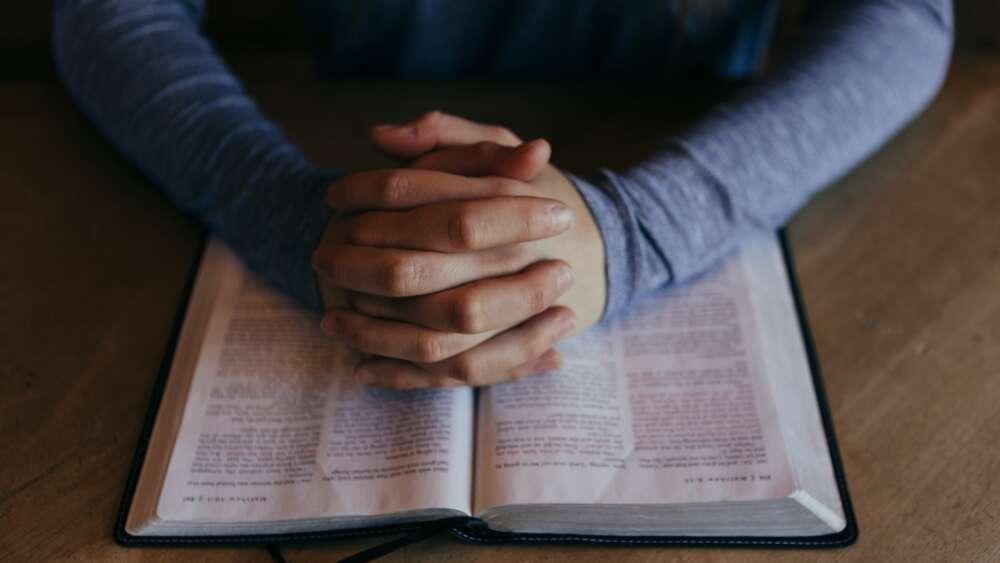 Bible and prayer