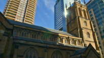 St Philip's church, Sydney, Australia.