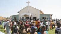 Worshippers in Bauchi, Nigeria