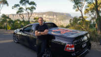 Karl Faase and his Ute