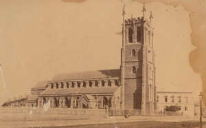 St Phillips Church in the 1860s